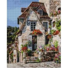Франция. Ракамадур Мозаика на подрамнике 40х50 40х50 Белоснежка 387-ST-S