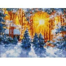 Февраль мозаичные картины