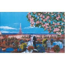 Набор Парижский поцелуй 45х28,5 Магия канвы Б-116