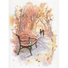 Набор Осенний променад 27х20 МП-Студия А-003