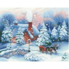 Набор Накануне Рождества 45х35 Риолис 100/041