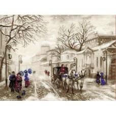 Набор Старая улочка 40х30 Риолис 1400
