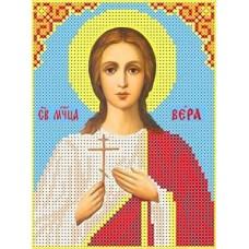 Набор Святая Вера бисер 12,8х16,8 Каролинка КБИН(Ч) 5015