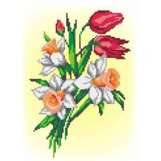 Букет нарциссов и тюльпанов набор