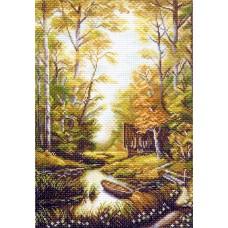 Сторожка лесника Рисунок на канве 37/49 37х49 (26х38) Матренин Посад 1242