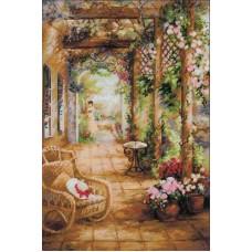 Набор Свидание в саду 40х60 Риолис 100/043