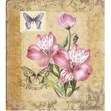 Лиловая соната Набор для создания открытки 22х25 (12х13,5) Матренин Посад 8358