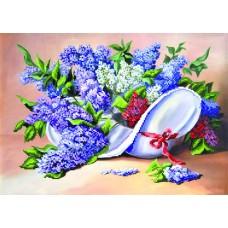 Сиреневый каприз Рисунок на шелке 37/49 37х49 (27х38) Матренин Посад 4066