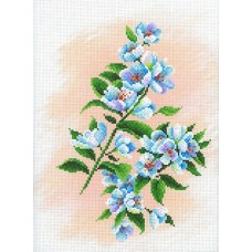 Яблоневый сад Рисунок на канве 30х40см 29х20(30х40) МП-Студия СК-058
