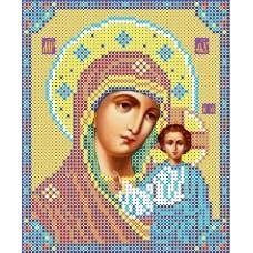 Богородица Казанская Рисунок на ткани 13х15,5 Каролинка ТКБИ 5023