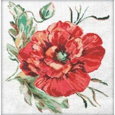 Маков цвет Набор для вышивания крестом 50х50 (32х34) Матренин Посад 6007/СК