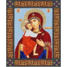 Набор Икона Божией Матери Феодоровская 35х28 Золотое руно РТ-102