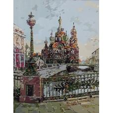 Великолепие Петербурга живопись на холсте 40х50см