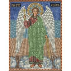 Ангел Хранитель набор для выкладывания полужемчугом 22х28 Преобрана 1П057