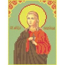 Набор Святая Надежда бисер 12,8х16,9 Каролинка КБИН(Ч) 5017