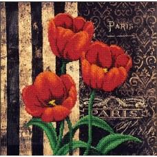 Набор Французские тюльпаны 29х29 Магия канвы Б-065