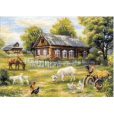 Набор Деревенский полдень 50х35 Риолис 1501