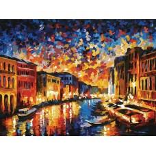 Гранд-Канал Венеция живопись на картоне 30*40см 30х40 Белоснежка 3024-CS