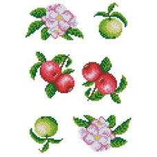 Рисунок-схема на водорастворимом флизелине 18,6х26,1 Каролинка КФО-4001