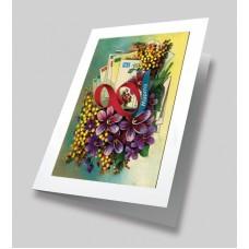 Букет любимой Набор для создания открытки 22х25 (15х21) Матренин Посад 8394