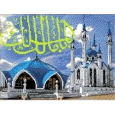 Мечеть Кул Шариф Рисунок на канве 23х30 Каролинка КК 013