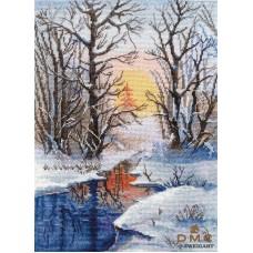 Набор Зимний ручей 20х28 Овен 1334