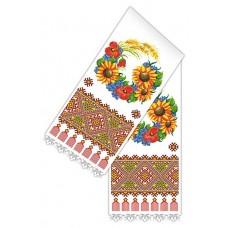 Рушник 2 м для вышивки крестом 37х200 Каролинка КРКН-2010