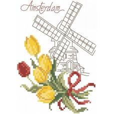 Амстердам Набор для вышивания крестом 20х22 (10х14) Матренин Посад 6060/СК