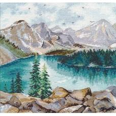 Набор Озеро Морейн 20х20 Овен 1256
