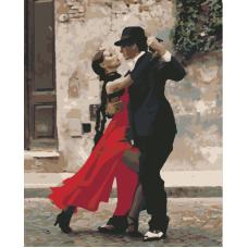 Танго живопись на холсте 40х50