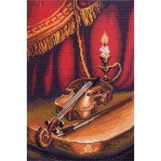Скрипка Рисунок на канве 28/37 28х37 (18х27) Матренин Посад 1400