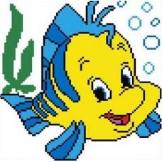 Набор Рыбка счетный крест 16х17 Каролинка КТКН 015