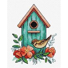 Набор Воробьиный дом 11х8 МП-Студия М-366