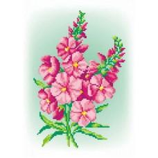 Розовый шарм Рисунок на канве 30х21см 22х15(30х21) МП-Студия СК-035