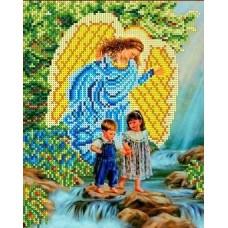 У водопада Рисунок на ткани 18,5х25 Каролинка ТКБА 4008