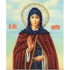 Набор Икона Святой Преподобной Марины 15х12,5 Золотое руно РТ-145