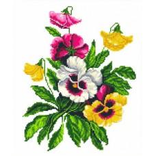 Набор Услада сердца канва с рисунком 21х27 Каролинка КТКН 159 (Р)