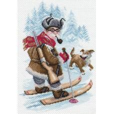 Охотник Рисунок на канве 28/37 28х37 (20х30) Матренин Посад 1672