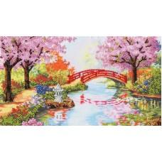 Набор Весенний сад 16,8х30 Золотое руно РТ-110