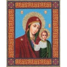 Набор Икона Божей Матери Казанская 35х28 Золотое руно РТ-033