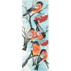 Снегири Рисунок на канве 24/47 24х47 (15х40) Матренин Посад 783