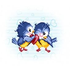 Сердечный друг Набор для вышивания бисером 28х34 (18х20) Матренин Посад 0107/Б