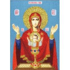 Набор Икона Божией Матери Неупиваемая чаша 25,5х18 Золотое руно РТ-158