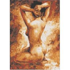 Набор Натурщица канва с рисунком 22,7х28,7 Каролинка КТКН 157 (Р)