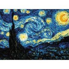 Набор Звёздная ночь. Ван Гог 40х30 Риолис 1088