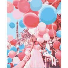 Следуй за мной. Париж живопись на холсте 40х50