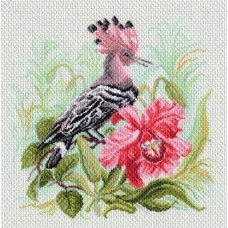 Райская птица Рисунок на канве 41/41 41х41 (34х34) Матренин Посад 1727