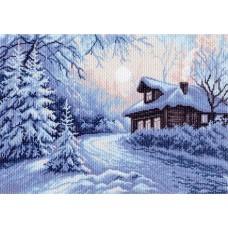 Мороз Рисунок на канве 37/49 37х49 (27х39) Матренин Посад 1356