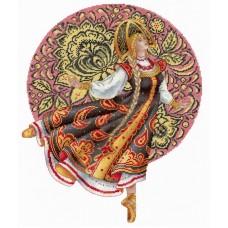 Набор Русские традиции. Хохлома 32х25 МП-Студия НВ-664