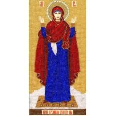 Набор Образ Божией Матери Нерушимая стена 30х15,6 Золотое руно РТ-085